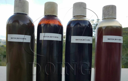 What's the oil yield of waste plastic to oil machine?