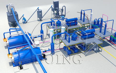 How to recycle soft plastic by plastic to oil machine?