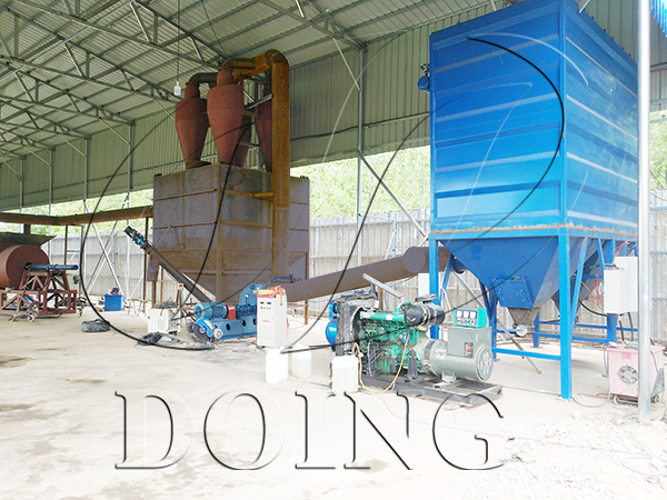 plastic recycling machine project