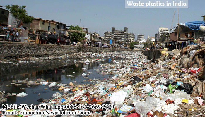 plastic waste recycling in india