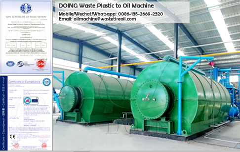 Can I get permission for plastic to oil pyrolysis project in India?