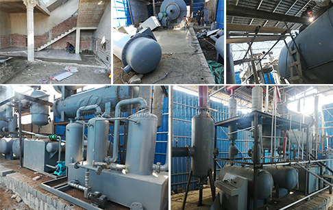 12TPD waste plastic pyrolysis plant project in Rajasthan, India